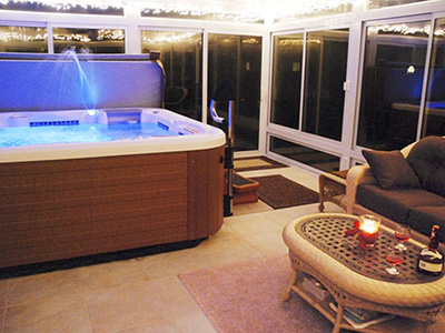 Hot Tub Sunrooms
