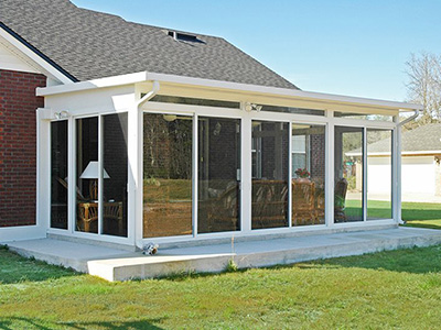 Slope Roof Sunroom