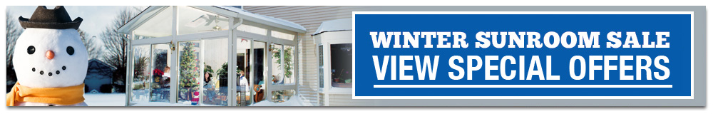 Sunroom Winter Season Offers